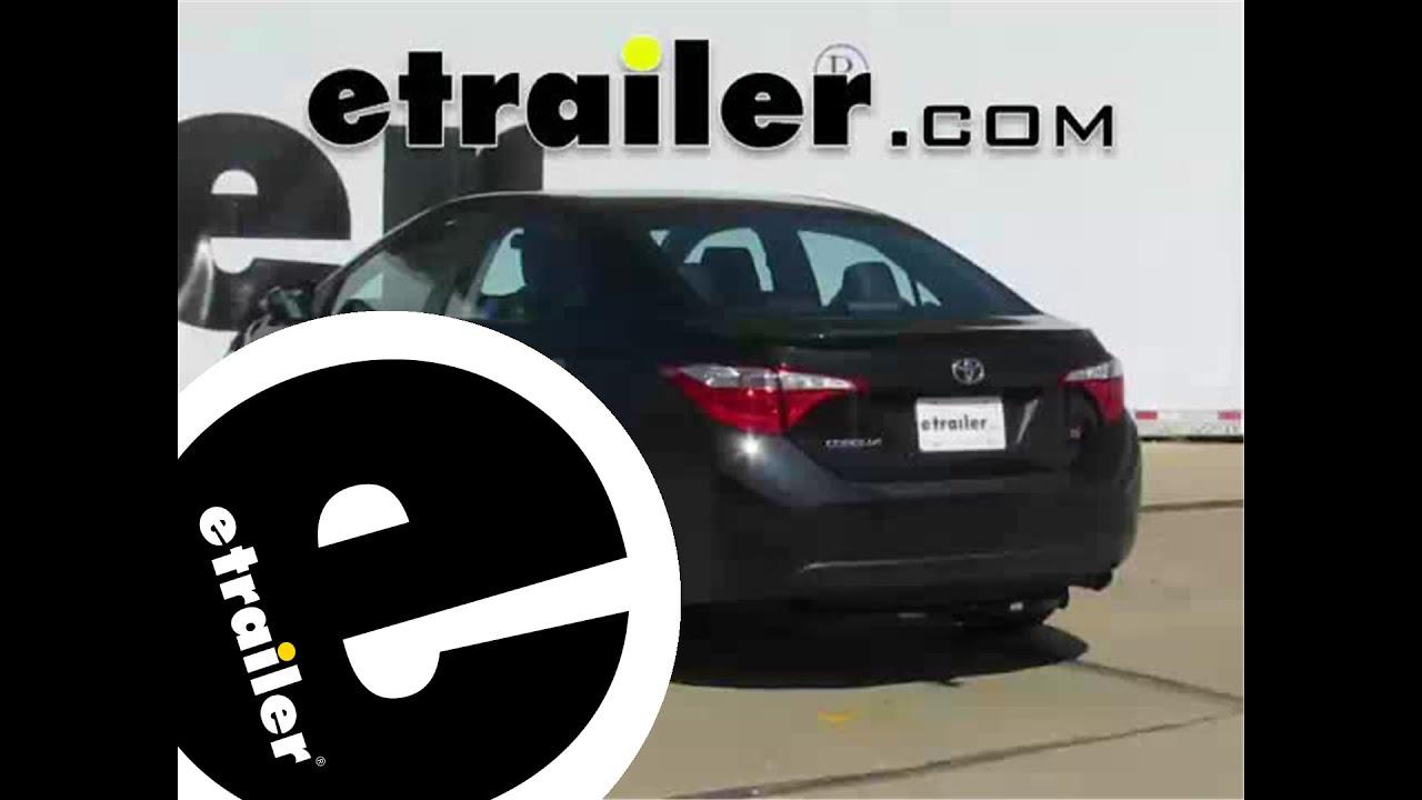 Install Trailer Hitch 2015 Toyota Corolla 24913