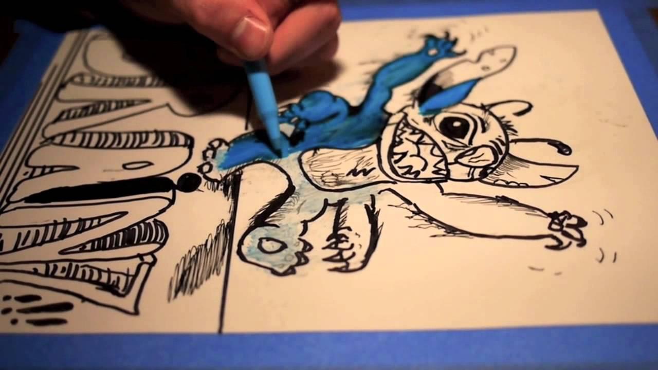 Zombie Stitch - YouTube