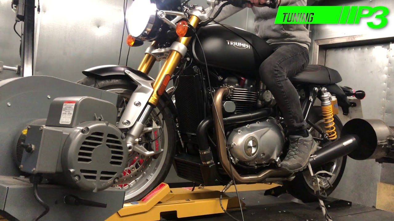 Triumph Thruxton R Supercharged Power Commander Fuel And Ignition