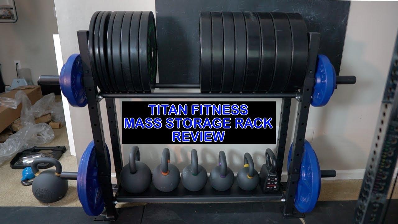 titan fitness mass storage rack review
