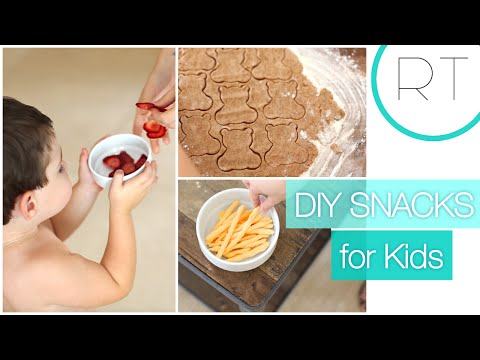 DIY Kids Snacks (Teddy Grahams, Cheetos, etc)