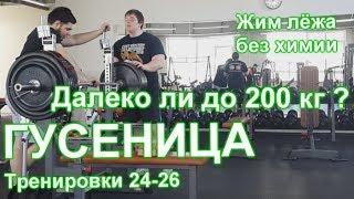 """ГУСЕНИЦА по Суровецкому А.Е. Видео: 10 """"Далеко ли до 200 кг?"""""""