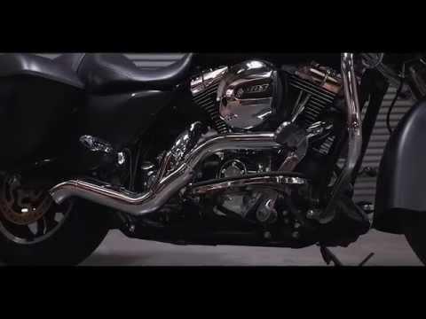 magnaflow harley davidson touring motorcycle rockstar exhaust sound clip