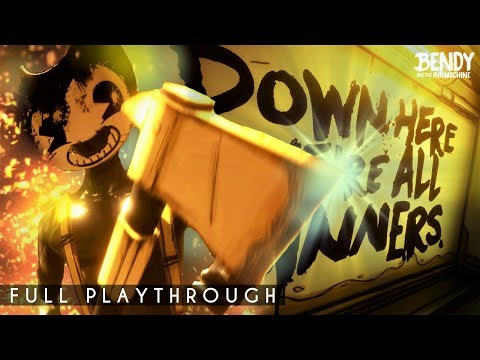 Meet the NEW Sammy Lawrence!    Bendy Chapter 2 Remastered 2018 (Full Playthrough)