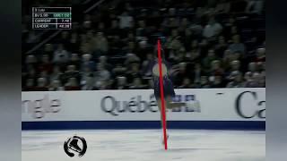Евгения Медведева исполняет 2 Аксель Технический разбор основных фаз прыжка Аксель