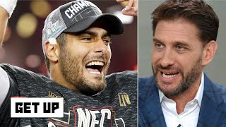 Greeny defends Jimmy Garoppolo: It can't be a coincidence the 49ers are in the Super Bowl | Get Up