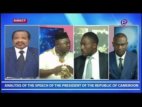 Analysis of the speech of the President of the Republic of Cameroon