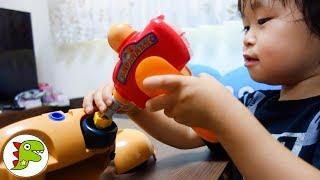 大工さん アンパンマン号を組み立てよう❤ アンパンマン くみたてDIY はしるぞっ! ねじねじアンパンマンごう Toy Kids トイキッズ anpanman thumbnail