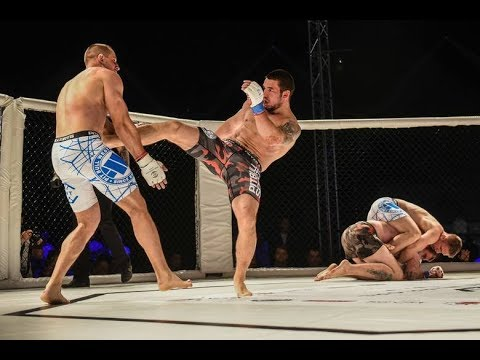 MMA fights (2x2): Polish Hooligans (Wałbrzych) vs Russian Hooligans (Moscow)