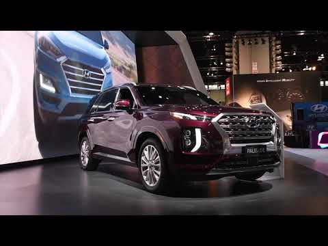 2020 Hyundai Palisade | First Look | 2019 Chicago Auto Show