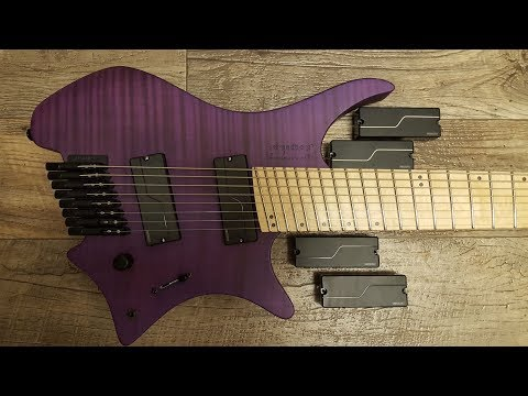 UNBIASED GEAR REVIEW - Fishman Fluence 8 string Pickup Shootout
