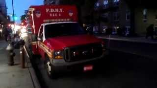 FDNY R.A.C.4 at engine 273 & Ladder 129 quarters