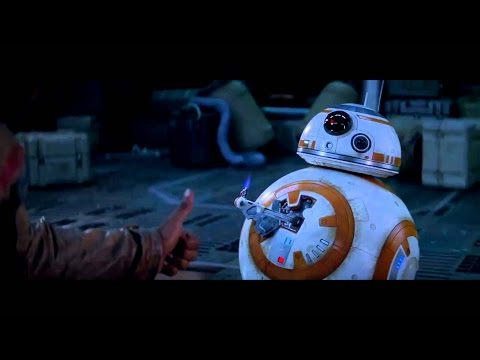 All BB8 sounds e scenes from The Force Awakens