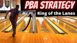 Professional Bowling Strategy Breakdown!!   King of the Lanes Edition