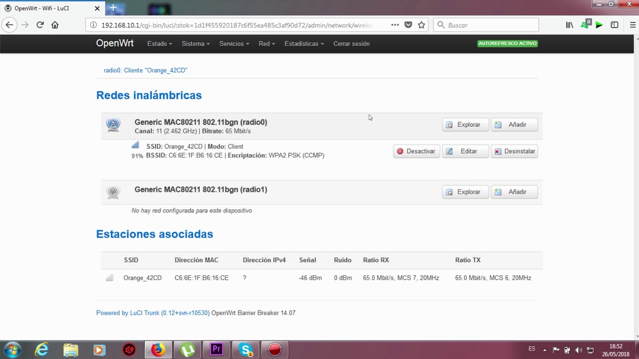 Como configurar router openwrt como repetidor wifi