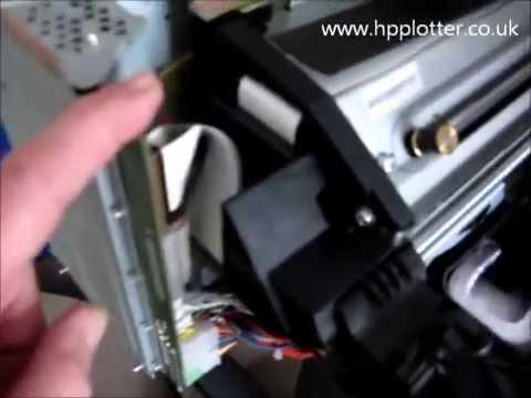 DesignJet 500 repair 11.11 (11:11) error