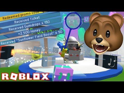 NEW CODES + GUMMY BEE!!  ROBLOX Bee Swarm Simulator