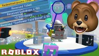 NEW CODES + GUMMY BEE!! | ROBLOX Bee Swarm Simulator