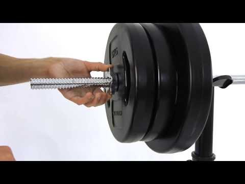 Centric Deluxe Bench 60kg Of Weights