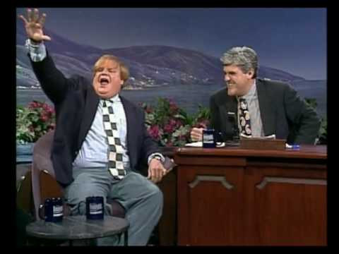 Chris Farley on Leno