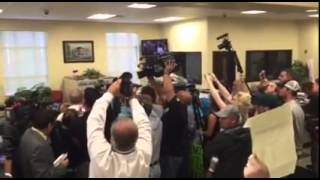 rowan county rights coalition reporters inside watching kim davis deny marriage licenses 1
