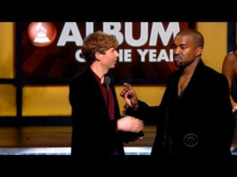 Kanye West Stormed the Stage (Again!) When Beyonce Lost to Beck at the GRAMMYs