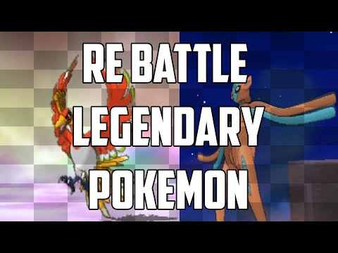 How To Re Battle Legendary Pokemon In Pokemon Omega Ruby And Alpha Sapphire