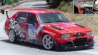 450Hp Alfa Romeo 75 Turbo || ONBOARD Max Attack !!!