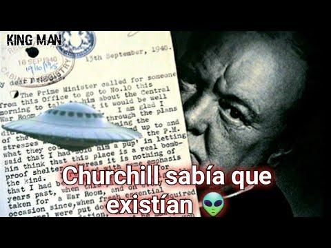 Churchill sabía de 200 casos de ovnis y de una nave gigante del tamaño de 20 estadios de fútbol ?