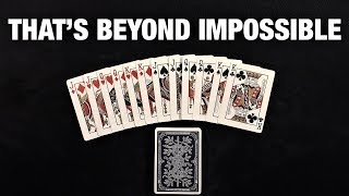 The MOST Insane Card Trick With a KILLER Ending!