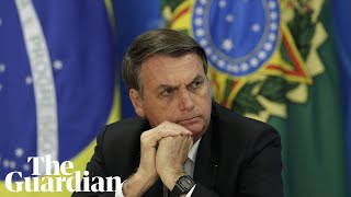 Jair Bolsonaro says criminals will 'die like cockroaches' under proposed new laws