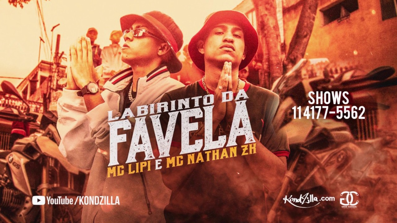 MC Lipi e MC Nathan ZK - Labirinto da Favela (DJ Guh Mix e DJ Biel Bolado)