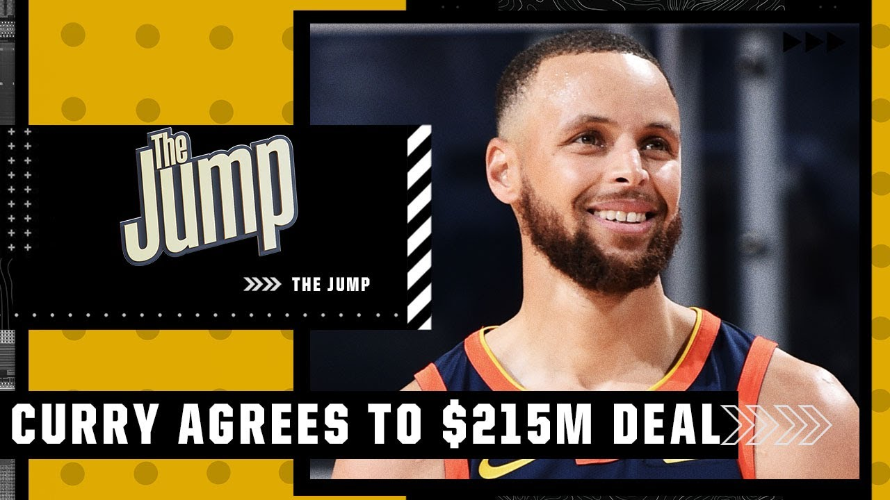 Steph Curry Agrees To 4-Year, $215-Million Extension, Becomes ...