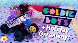 HOLIDAY GIVEAWAY + New YEAR vs. New ME bot battle | GoldieBlox