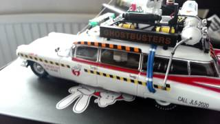 Hot Wheels Elite 1:43 Ghostbusters II Ecto1a Unboxing