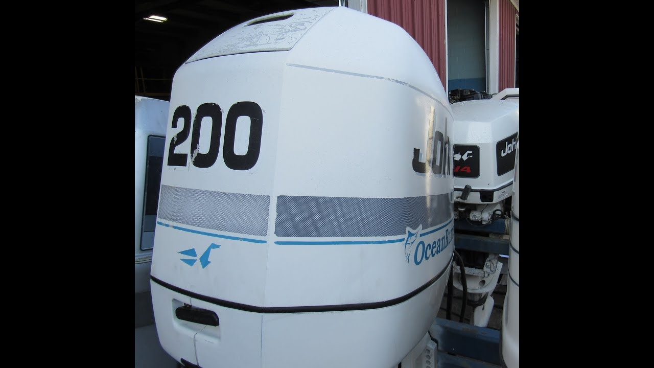Used 1997 Johnson 200HP Outboard J200TXEU 25