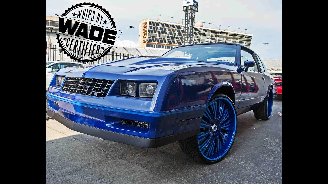 "Stuntfest 2k15 : All Blue Monte Carlo SS On 24"" Wheels"