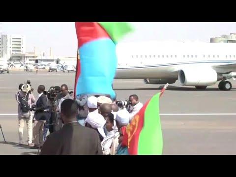 بعد سنوات من القطيعة.. الرئيس الإرتري في السودان  - نشر قبل 2 ساعة