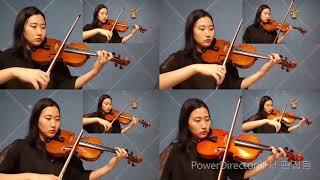 바이올린 비올라 8중주/ 히사이시조 인생의 회전목마(하…