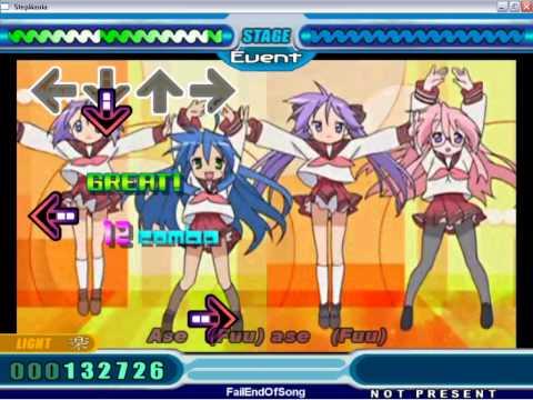 Lucky Star OP - Motteke! Sailor-fuku On Stepmania + Download Links