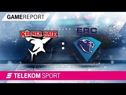 Kölner Haie – ERC Ingolstadt | 33. Spieltag, 17/18 | Telekom Sport