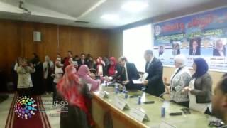 فيديو  تكريم الأمهات المثاليات بمستشفيات جامعة قناة السويس