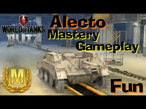 WOT Blitz Alecto Mastery Gameplay