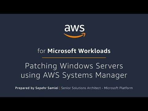 Patching Windows Servers using AWS Systems Manager