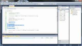 C++ Tutorial 5 - Strings, Getline, Concatenation, and String Functions
