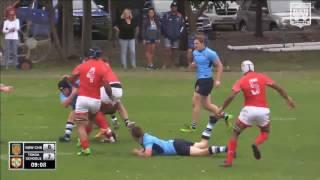 Tonga Schoolboys v NSW CHS Highlights