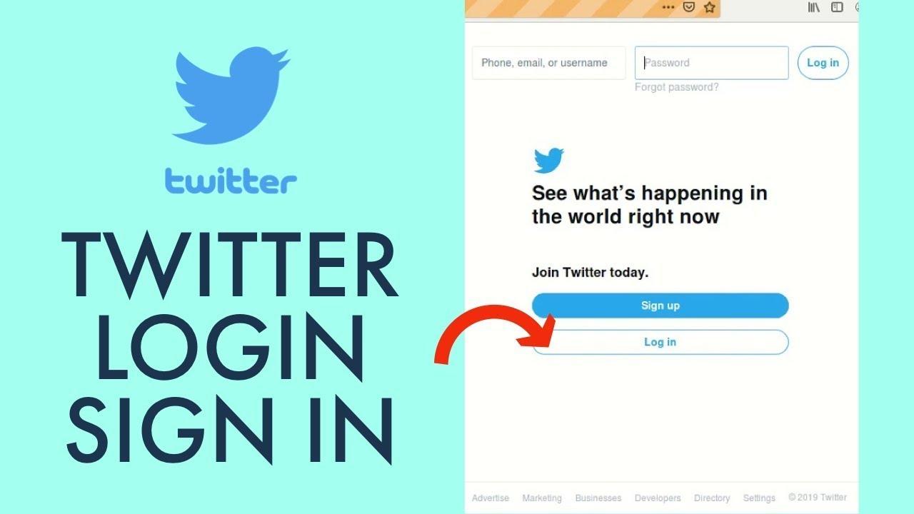 Twitter.com Login How To login to Twitter Account   Twitter ...