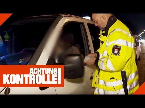 Deutsche PKW-Kennzeichen an polnischem Wagen: Polizei ermittelt!   Achtung Kontrolle   kabel eins