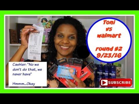 Walmart Round 2....Toni vs Cashier AGAIN~9/23/16 | I Made Some Money
