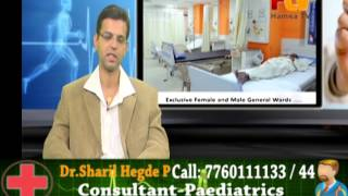 Doctors LIVE phone in- Hamsa TV - Dr.Sheril hegde - Paediatrician